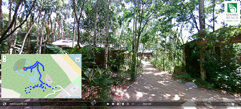 Kewarra Beach Resort Forest Cabins Track 2