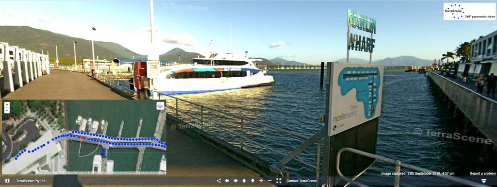 Cairns Dive Boat Marina