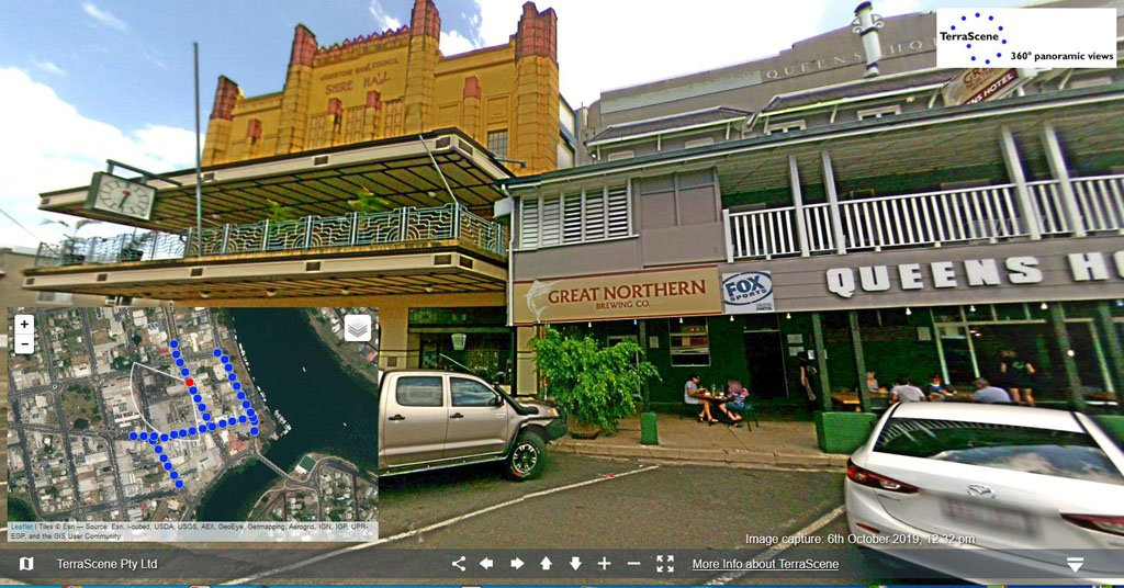 Innisfail, Queens Hotel and Shire Hall,